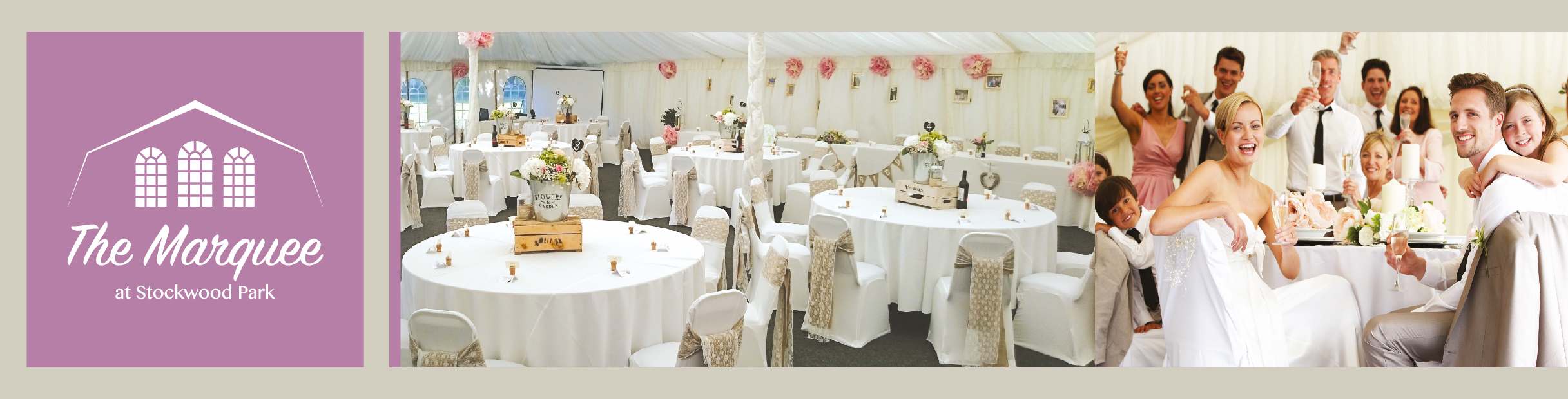 Marquee Stockwood Park wedding receptions Luton 01