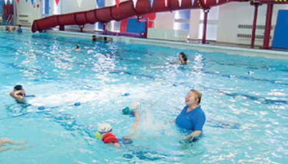 Swim-only membership