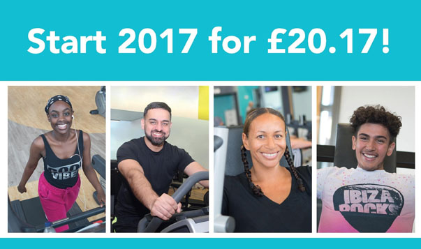 Start 2017 for just £20.17 with Active Luton