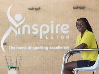 Love Odjubi – a Leisure Operations Assistant at Inspire – is stacking up her awards!