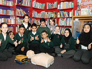 Luton children learn lifesaving first aid